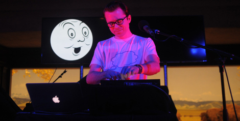 Photos: Tom Vek @ Natural History Museum First Fridays, February 6, 2014