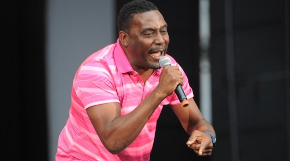 Photos: Big Daddy Kane @ The Art of Rap, Irvine Meadows Amphitheatre, July 18, 2015