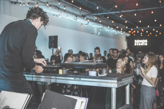Jamie xx DJ set for Sonos Studio & KCRW, August 3, 2015
