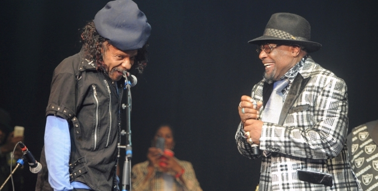 Photos: George Clinton & Parliament Funkadelic w/ Sly Stone @ Club Nokia, August 14, 2015