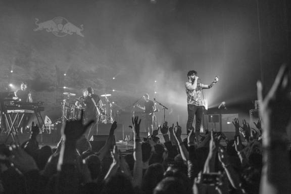 Notes: Foals @ Red Bull Sound Select 30 Days In LA @ The Wiltern, November 29, 2015