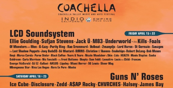 Coachella 2016 Lineup & Ticket Info