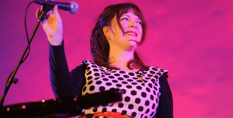 Photos: Piney Gir @ Masonic Lodge at Hollywood Forever, April 2, 2016