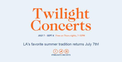 Twilight Concerts @ Santa Monica Pier - Schedule & Lineup