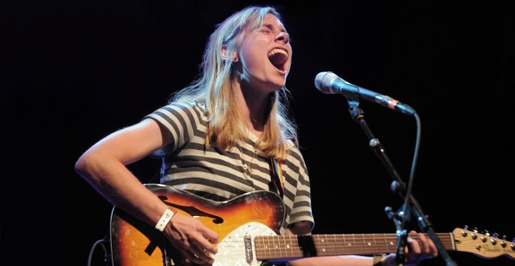Photos: Julien Baker @ El Rey Theatre, August 25, 2016