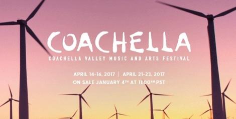 Coachella 2017 Lineup & Ticket Info