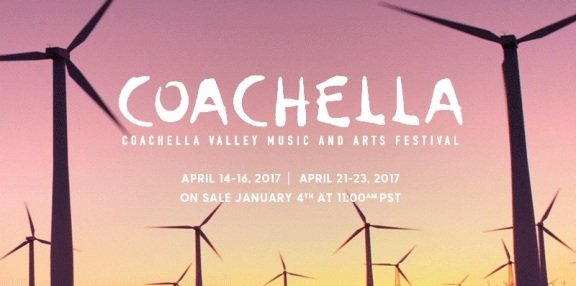 Coachella 2017 Lineup & Ticket Info