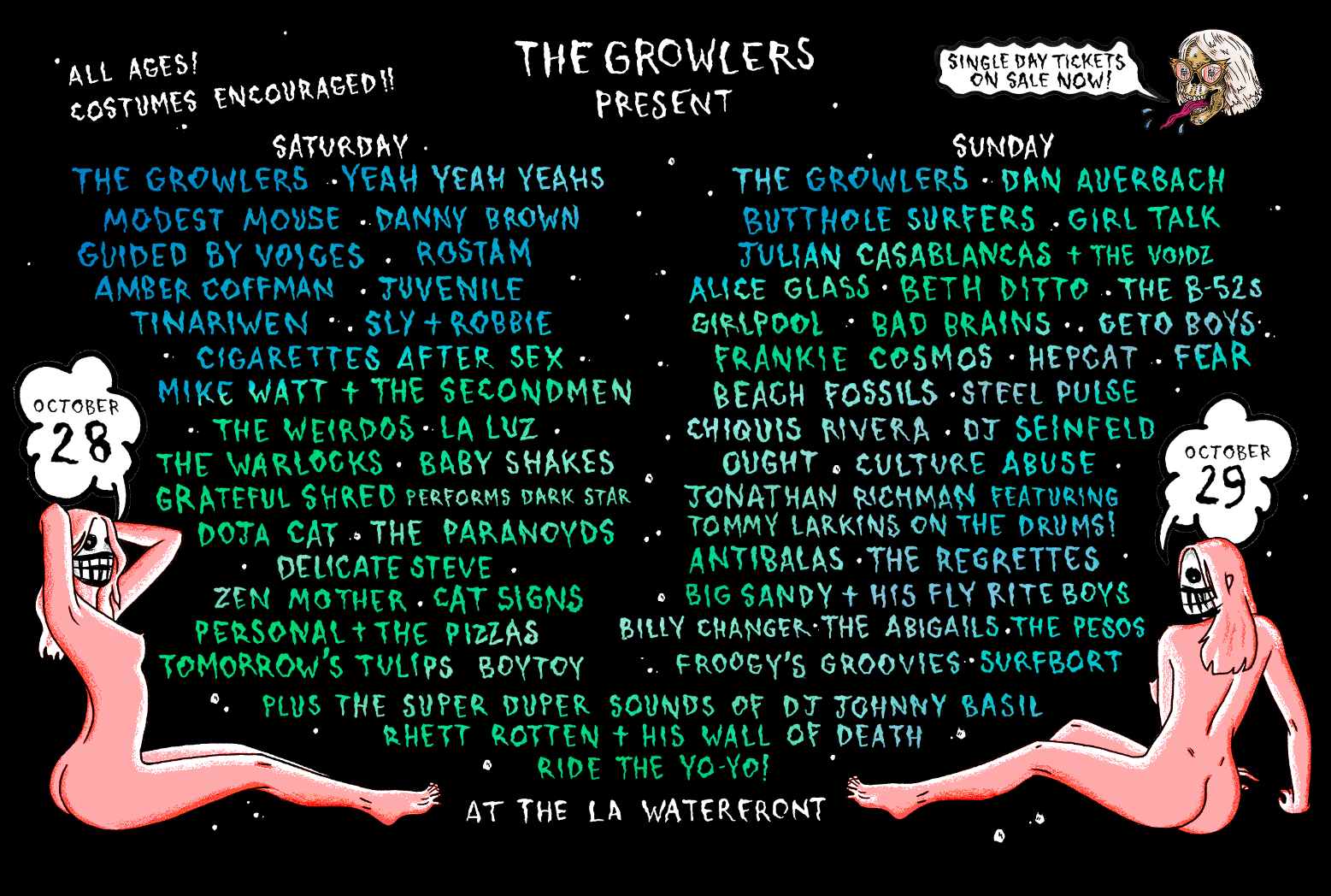 The Growlers Fest Six