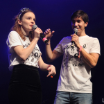 Lauren Mayberry & Justin Long
