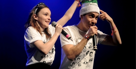 Photos: Justin Long + CHVRCHES Present: A Holiday Variety Show @ The Fonda Theater, December 13, 2017
