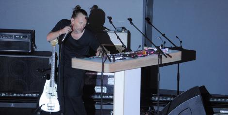 Photos: Thom Yorke @ The Fonda Theatre, December 12, 2017