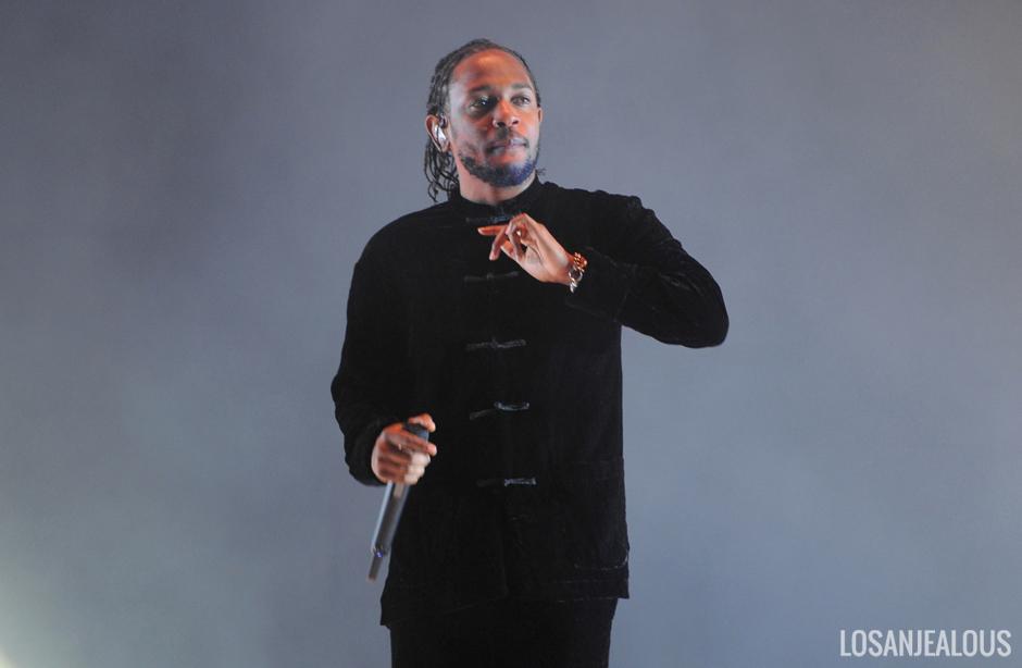Kendrick Lamar @ Coachella 2017