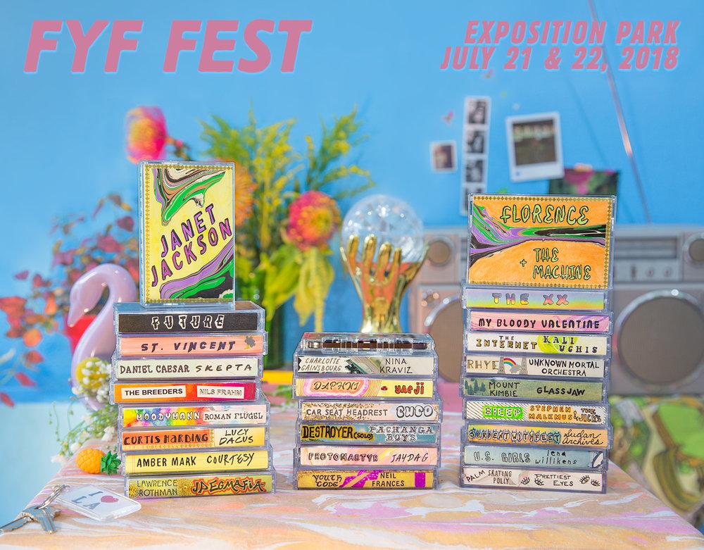 FYF 2018 poster