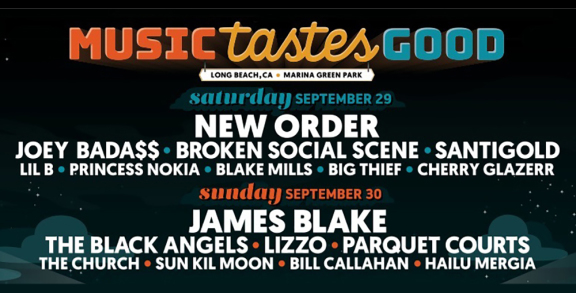 Music Tastes Good 2018 Lineup Announced