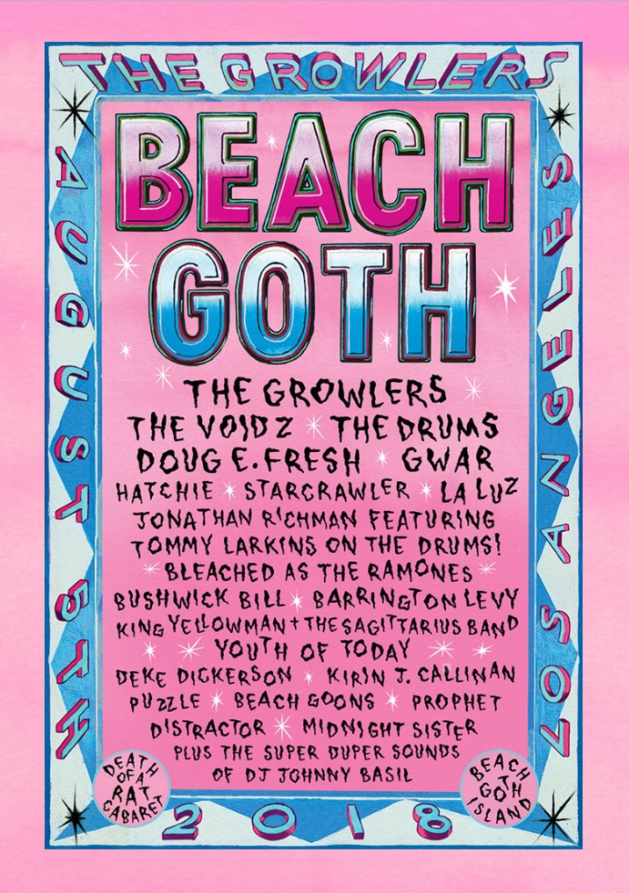 Beach Goth 2018