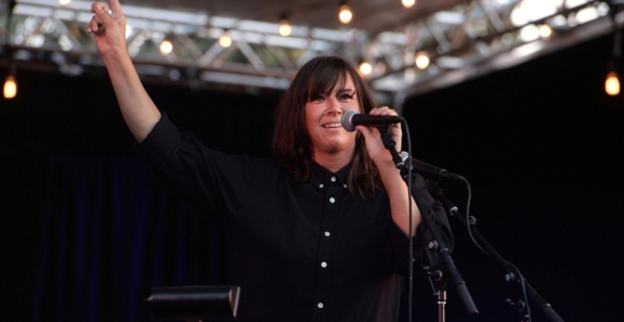 Photos: Cat Power @ Burton Chace Park, August 4, 2018