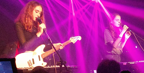 Live Review: Let's Eat Grandma @ Moroccan Lounge, September 4, 2018