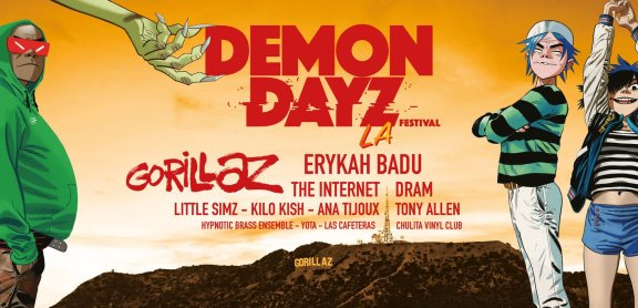 Demon Dayz Festival LA | Lineup & Ticket Info
