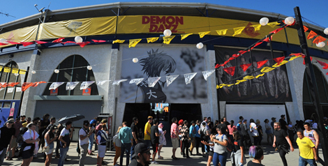 Live Review: Gorillaz's Demon Dayz LA Festival @ Pico Rivera Sports Arena, October 20, 2018