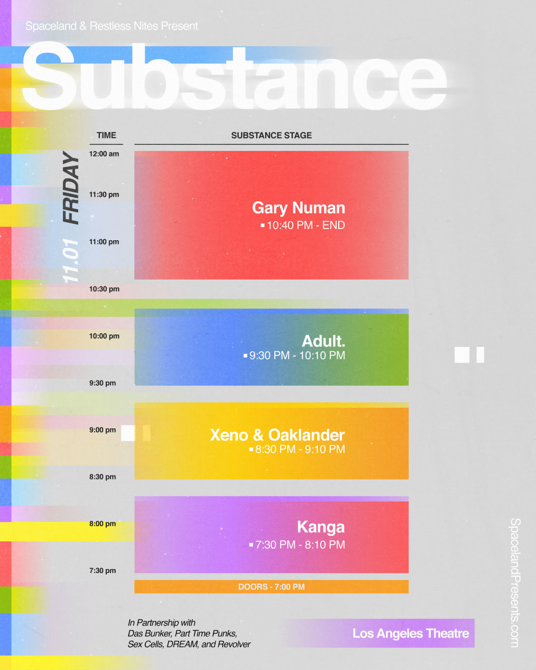 Substance 2019 Friday
